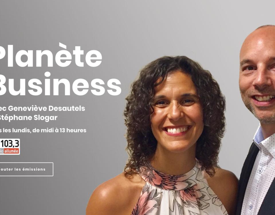 Les expériences immersives avec Stéphane Slogar et Geneviève Desautels